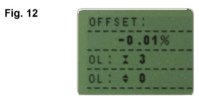 AFG sensor diagnostic test