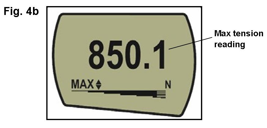 AFG max tension display