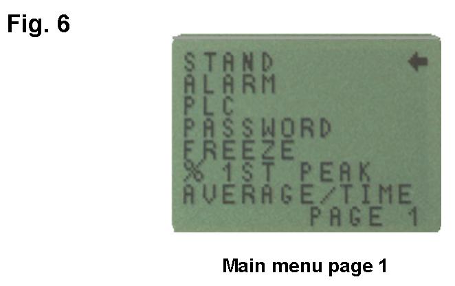AFG main menu page 1
