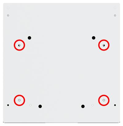 Base Hole Pattern