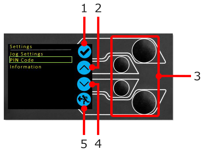 Display Panel Controls