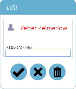 Edit a User