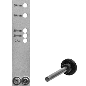 Gauge Length Plate and Pin
