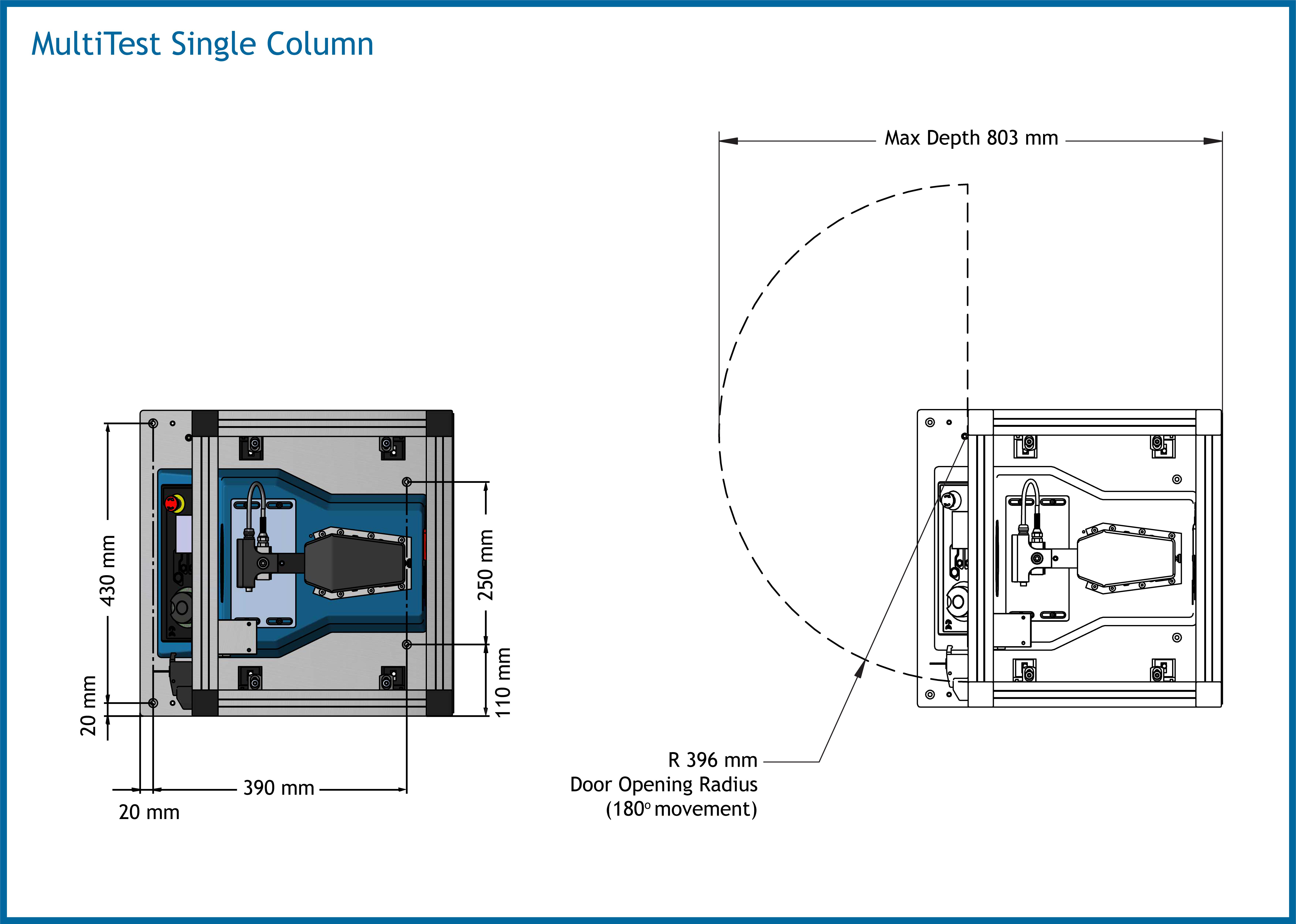 MultiTest Single Column Dimensions