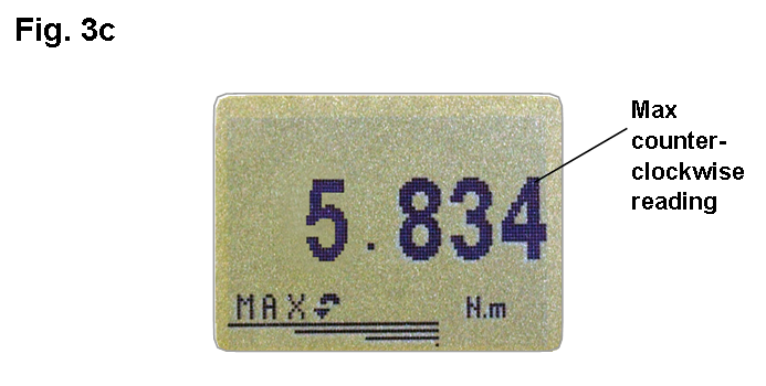 Orbis max counter-clockwise display