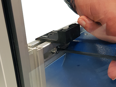Removing Front Extrusion Cross Member