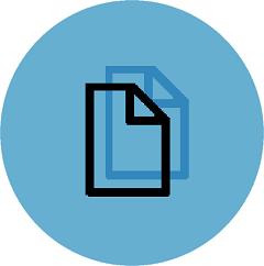 Round Copy Icon