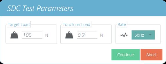 Set SDC Parameters