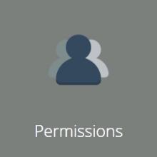 Permissions Tile