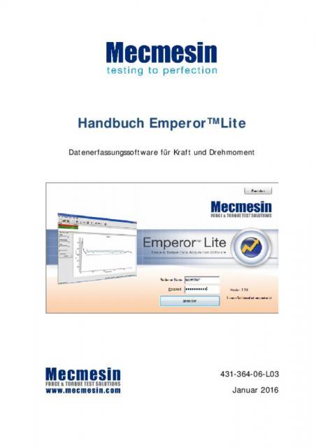 Handbuch Emperor™ Lite
