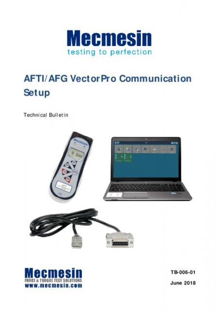 AFG/AFTI To Vector Pro software