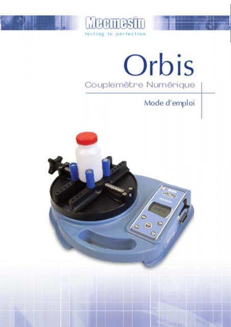 Orbis Couplemètre Numérique Mode d'emploi