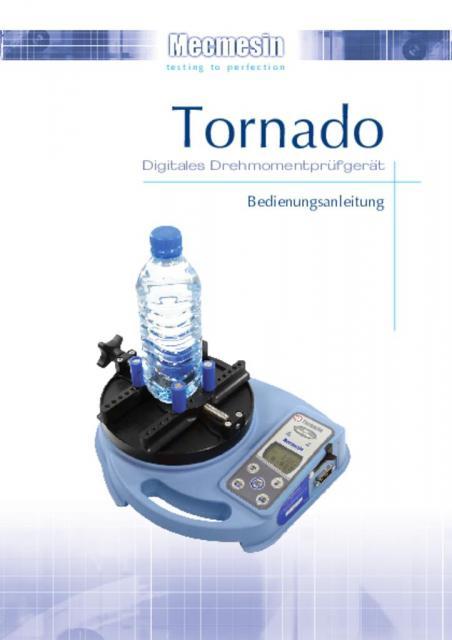 Tornado Digitales DrehmomentprufgeratBedienungsanleitung