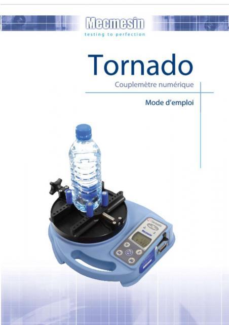 Tornado Couplemètre numérique Mode d'emploi
