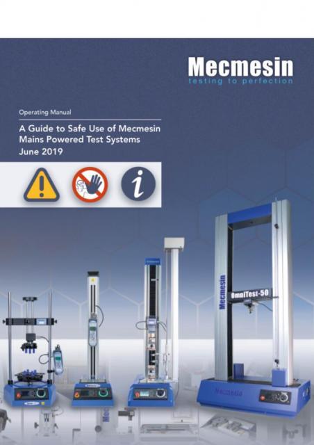 431-395-05 - Priročnik za varno uporabo testnih sistemov napajanih iz omrežj